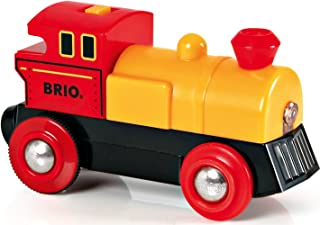 BRIO World - 33594 Two-Way Battery-Operated Engine | Train Toy for Kids Ages 3 and Up