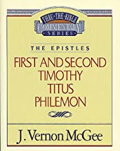Thru the Bible Vol. 50: The Epistles (1 and   2 Timothy/Titus/Philemon)