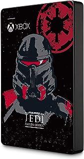 Seagate zewnętrzny przenośny dysk twardy, 2 TB, edycja Star Wars, Jedi Fallen Orderder, oficjalnie licencjonowana na Xbox ...