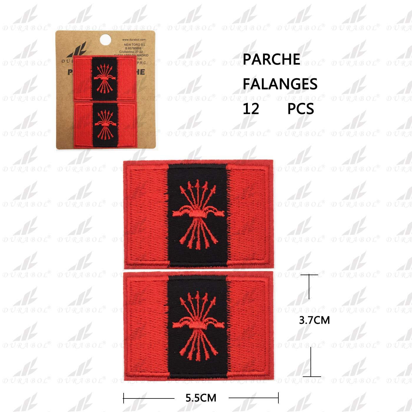 BANDERA DEL PARCHE BORDADO PARA PLANCHAR O COSER (FALANGES-2): Amazon.es: Hogar