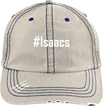 CHICKYSHIRT #Isaacs - A Nice Adjustable Embroidered Hashtag Dad Hat Cap