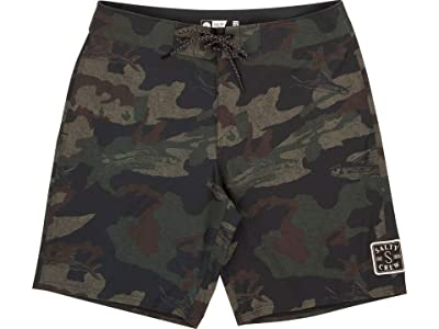 Salty Crew Shacked Boardshorts (Camo) Men