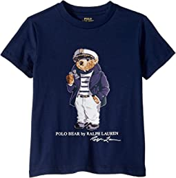 ae44b4661 Polo Ralph Lauren Kids. Captain Bear Cotton Tee (Big Kids).  29.50. New.  Newport Navy