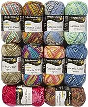 10 Skein SMC Catania Color Originals, Multicolor Yarn, 100% Cotton, Total 17.6 Oz Each 1.75 Oz (50g) / 137 Yrds (125m), Fine-Sport 2, Assorted Colors Yarn