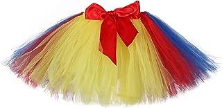 Holiday Tutu Skirts for Women Elastic Waist Fluffy Layered