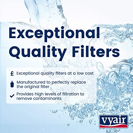 11301 Triflow Chrom Hahn Vyair AquaFilter Untertisch-Trinkwasser Anti Chlor Filtrationssystem mit VYR-35A Inline-Filter und Allen Erforderlichen Rohren und Fittings