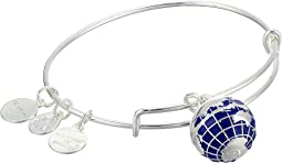 Globe Bangle Bracelet