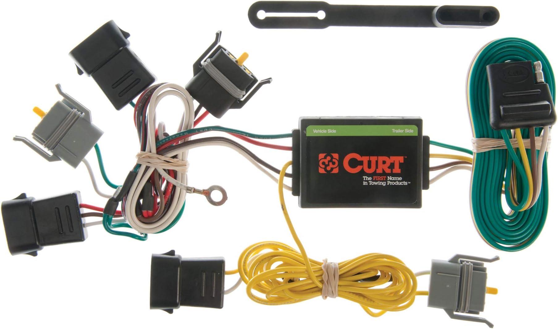 Amazon.com: CURT 55343 Vehicle-Side Custom 4-Pin Trailer Wiring Harness for  Select Ford Econoline, Escape, Mazda Tribute, Mercury Sable: AutomotiveAmazon.com