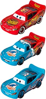 Disney/Pixar Cars Lightning McQueen Diecast Memorable Moments Collection (3 Pack)