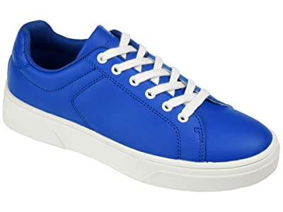 Journee Collection Comfort Foam Leeon Sneaker (Blue) Women