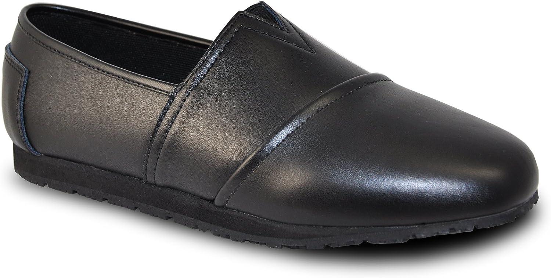 VANGELO Professional Slip Resistant Women Work shoes ISANA Black
