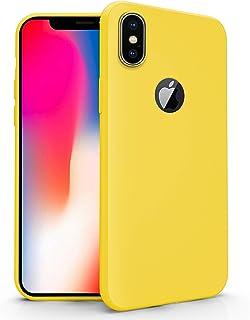 Amazon.it: cover iPhone x - Giallo: Elettronica