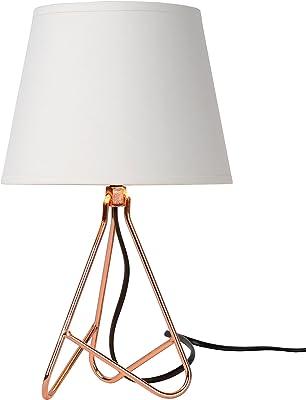 Lucide GITTA - Lampe De Table - Ø 17 cm - Cuivre