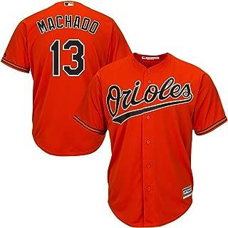 Outerstuff Manny Machado Baltimore Orioles Orange Toddler Cool Base Alternate Replica Jersey