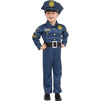 Rubies - Disfraz de policia para niño, talla 5-7 años (Rubies ...