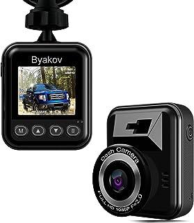 Caméra de voiture, Byakov Dashcam voiture enregistreur de conduite Full HD 1920x1080P..