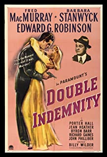 Best double indemnity movie poster Reviews