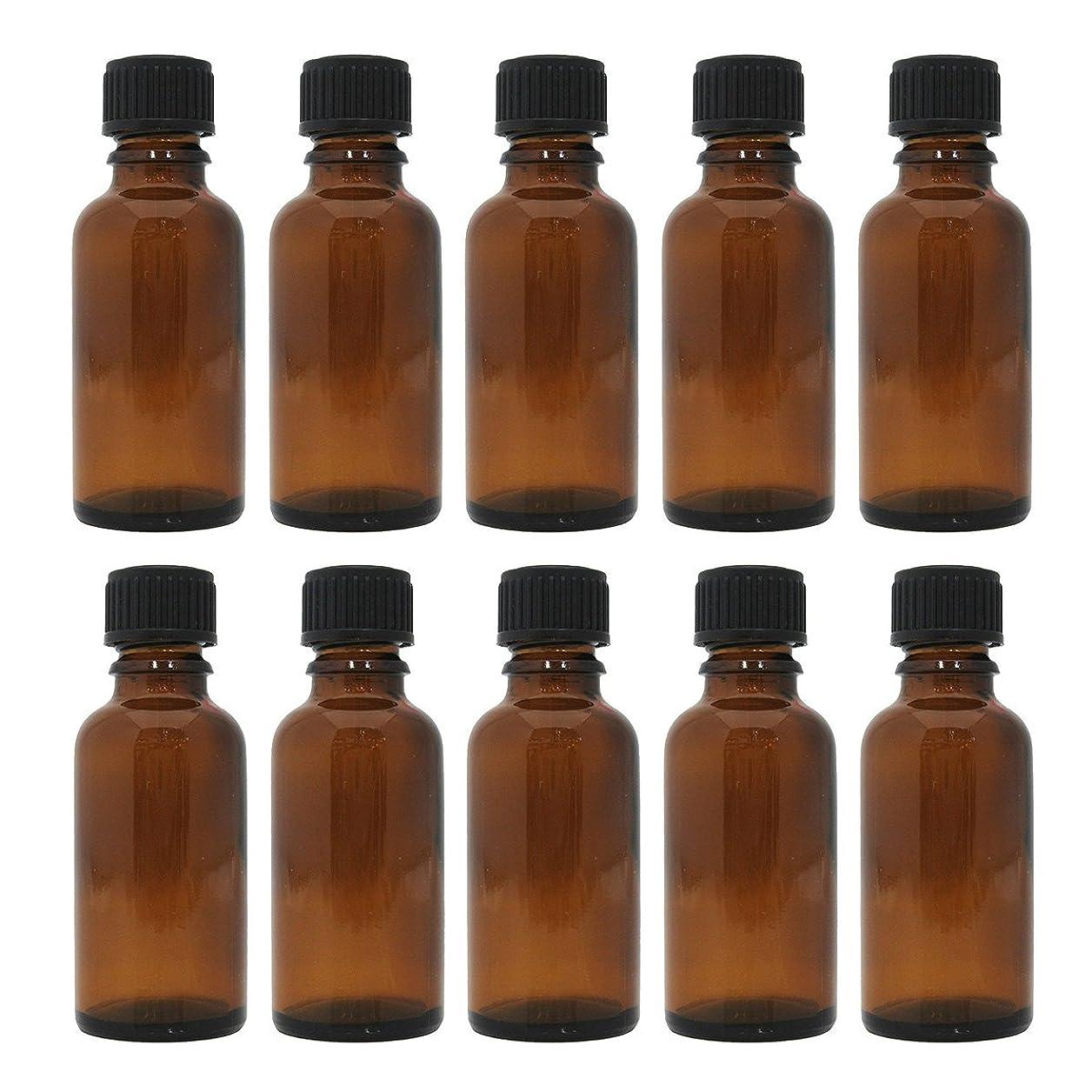 センブランスパウダーオーストラリア茶色遮光瓶 30ml (ドロッパー付) 10本セット