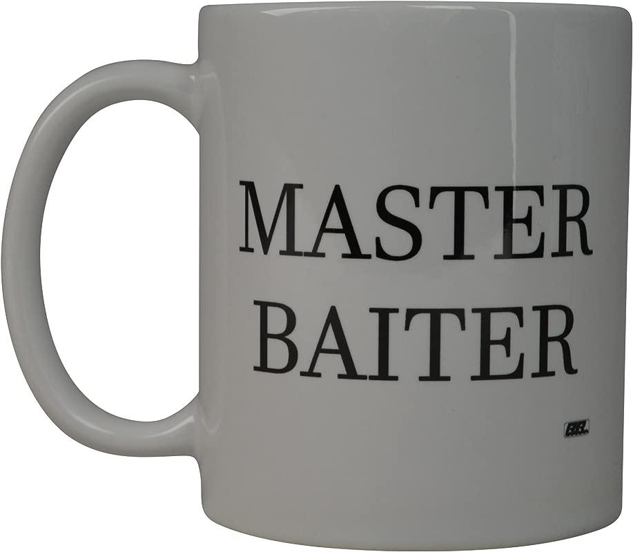 Rogue River Coffee Mug Fishing Fish Master Baiter Novelty Cup Great Gift Idea For Men Him Dad Grandpa Fisherman Master