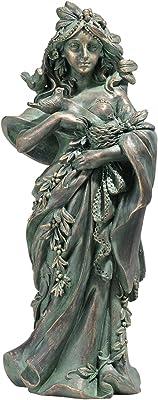 Design Toscano NG31497 Statue mère Nature, Multicolore, 12,5 x 18 x 40,5 cm