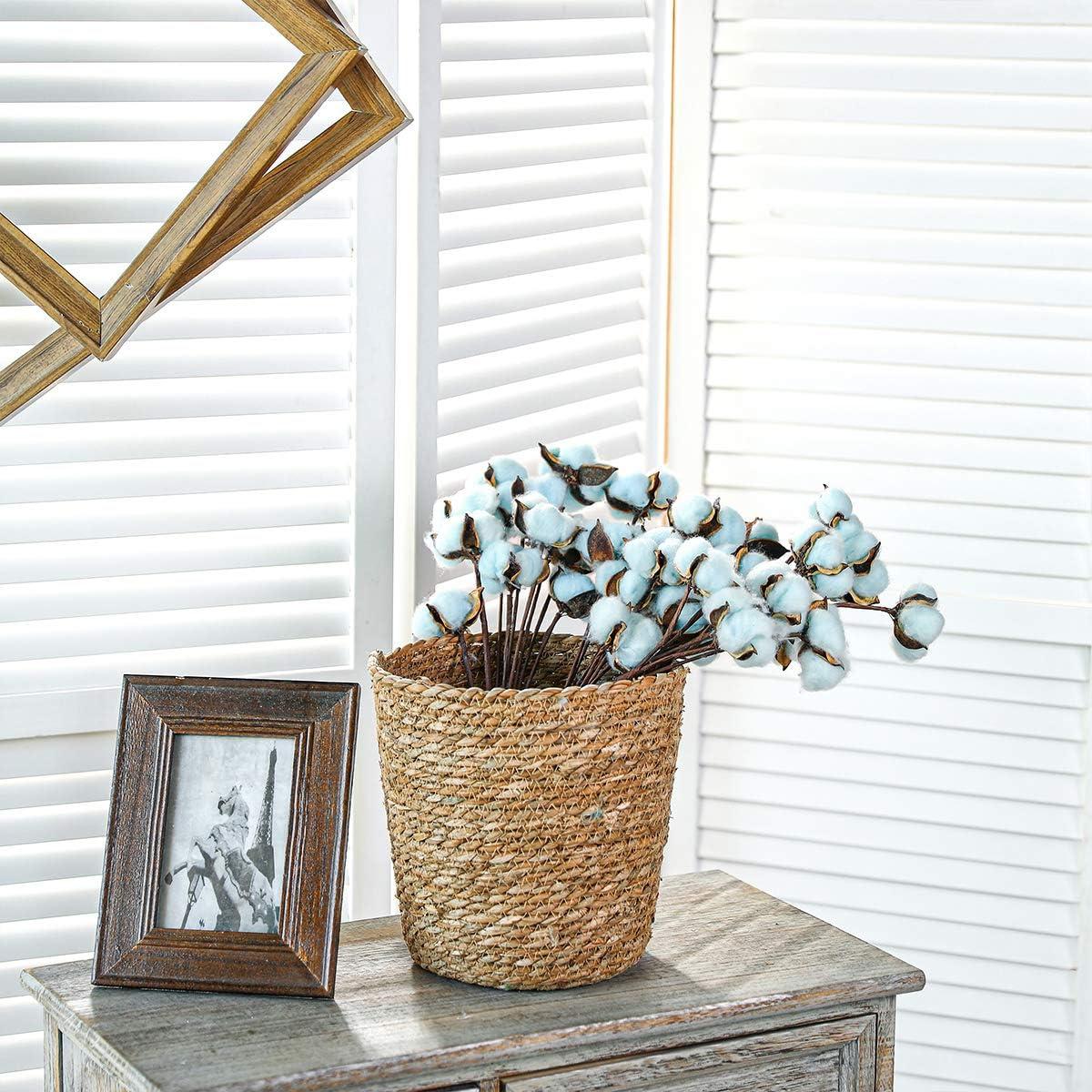 m/élang/ées Floralsecret Lot de 30 tiges de coton d/écoratives pour couronne de fleurs