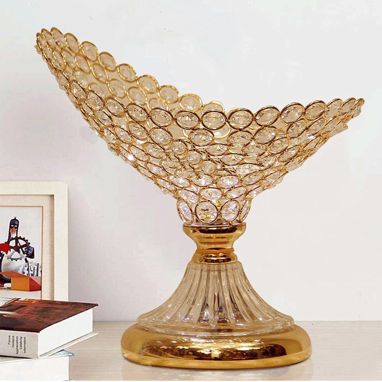 Europäische Palast Kristall Tischlampe Tischlampe Tischlampe Elegant Glänzend Schlafzimmer Lichter Romantischen Eleganten Kristall Restaurant Lichter Licht-E27, hoch 26cm, D27cm (Tastenschalter) B07547V6T6 | Moderne Technologie  dd8b4e