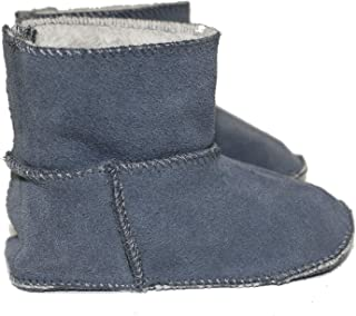 Frenchie Mini Couture Sheepskin Lined Boot, Baby, Toddler