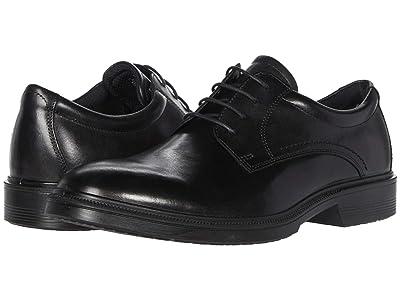 ECCO Maitland Plain Toe Tie (Black) Men