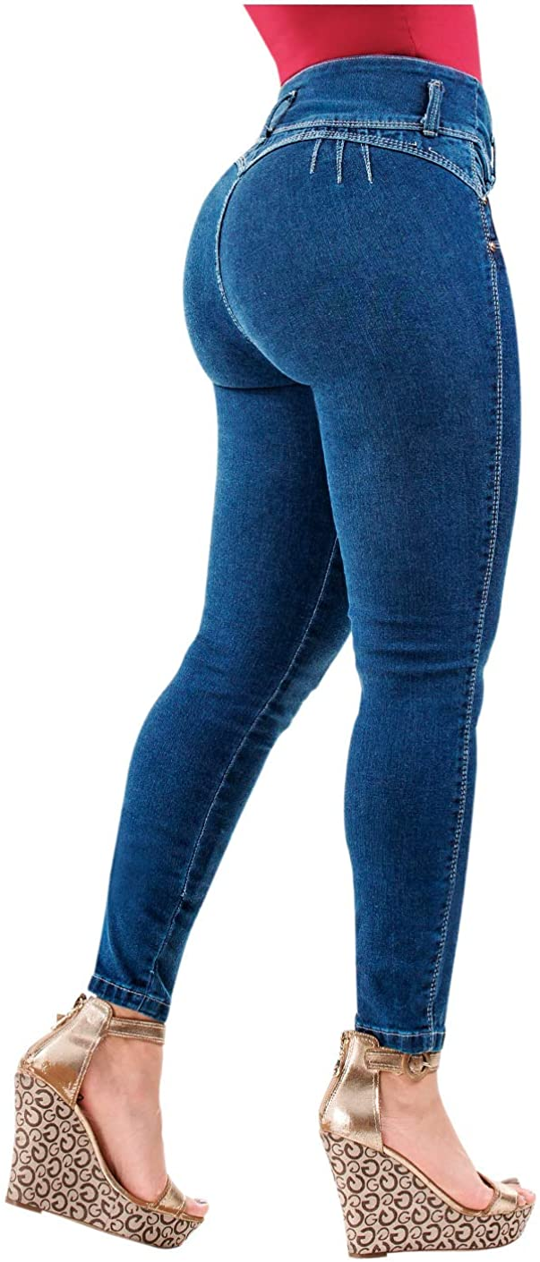 LT.ROSE Womens Special sale item Butt Lifter Indefinitely Skinny Colombian Colombianos Jeans Le