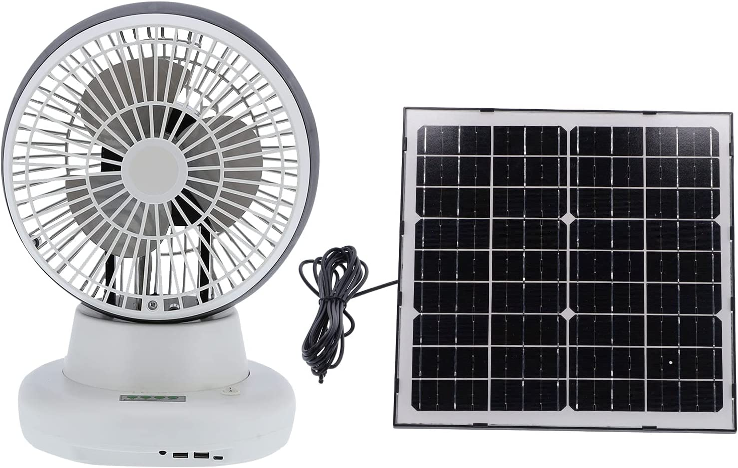 Solar Fan At the price of surprise Electric Four Gears Long-awaited Speed Fishing Ou for Wind