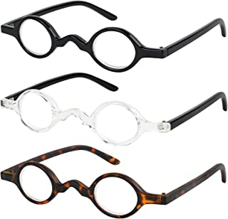 Reading Glasses Set of 3 Professor Readers for Men and Women Quality Fashion Glasses for Reading