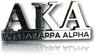 Alpha Kappa Alpha Car Decal Tag