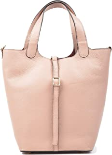 Carla Ferreri Peach Shopper Bag For Women