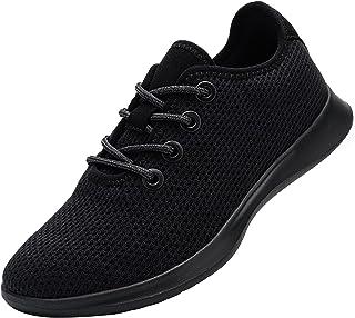 DYKHMATE Chaussures de Sport Femme Lacet Baskets Legere Respirante Fitness Sneakers Chaussures de Course Pieds Nus Hydrofuge