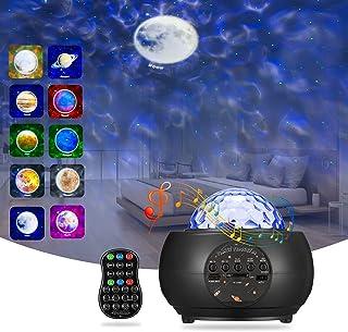 پروژکتور گلکسی پروژکتور ستاره ، BSYUN نسخه جدید پروژکتور صوتی فعال شده برای سقف دیوار اتاق اتاق هدیه برای بزرگسالان کودکان بچه ها