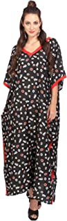 Miss Lavish London Women Kaftan Tunic Kimono Style Plus Size Maxi for Loungewear Holidays Nightwear & Everyday Dresses #115119
