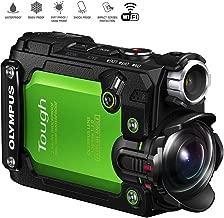 Olympus Stylus TG-Tracker 4K Action Cam Water/Shock/Freeze-proof Green (V104180EU000) - (Renewed)