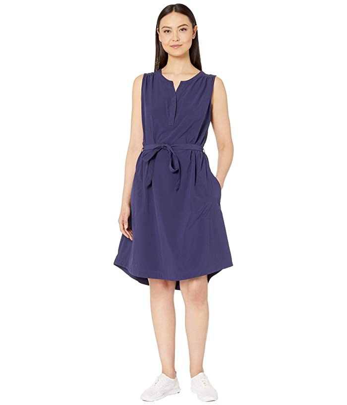Royal Robbins Spotless Traveler Tank Dress (Ink Blue) Women