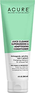 ACURE Juice Cleanse Supergreens & Adaptogens Conditioner   100% Vegan   Antioxidant Shampoo For Stressed Hair   Ashwagandh...