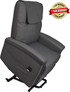 SOPHNEER Power Lift Recliner Chair -Fabric Sofa (32