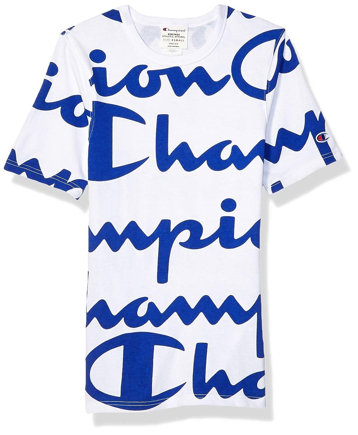 雲ラフレシアアルノルディ労働者Champion LIFE SHIRT メンズ US サイズ: X-Large カラー: ホワイト