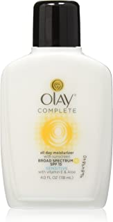 Olay Complete All Day Moisturizer With Sunscreen Spf 15 Sensitive 4oz (2 Pack)