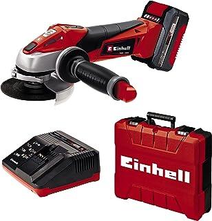 Sponsored Ad – Einhell Angle Grinder TE-AG 18/115 Li Kit Power X-Change (Softstart Function, Restart Safeguard/Overload Cu...