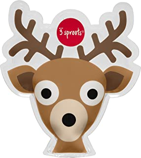 3 Sprouts Deer Ice Pack, Brown