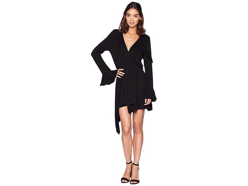Young Fabulous & Broke Bayberry Dress (Black) Women