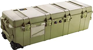 Pelican 1740 Travel Vault Watertight Hard Case with Foam - Olive Drab Green