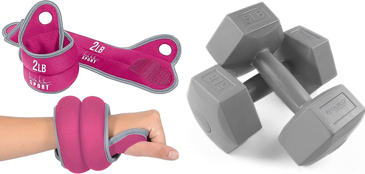 Nicole Miller Wrist Max 77% OFF Weight Sets Thumblock Hand for Weights Surprise price