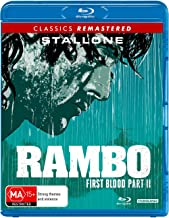 Rambo: First Blood Part 2 Blu-Ray | Sylvester Stallone | Region B