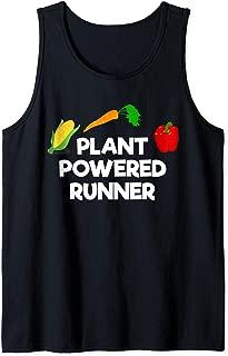 Plant Powered Runner Vegan Running Tank Top