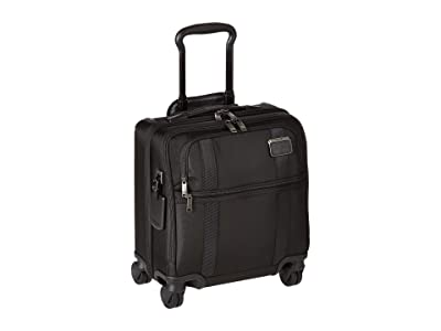 Tumi Merge Small Compact 4 Wheel Brief (Black) Briefcase Bags